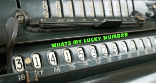 how to calculate lucky numbers
