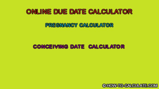 how to date calculate due date