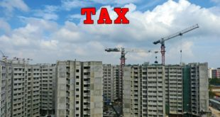 service tax on property