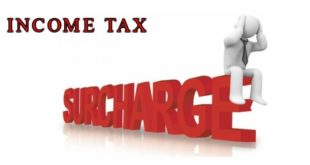 sURCHARGE ON INCOME TAX