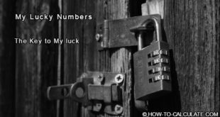 my lucky number