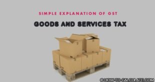 GST tax calculation